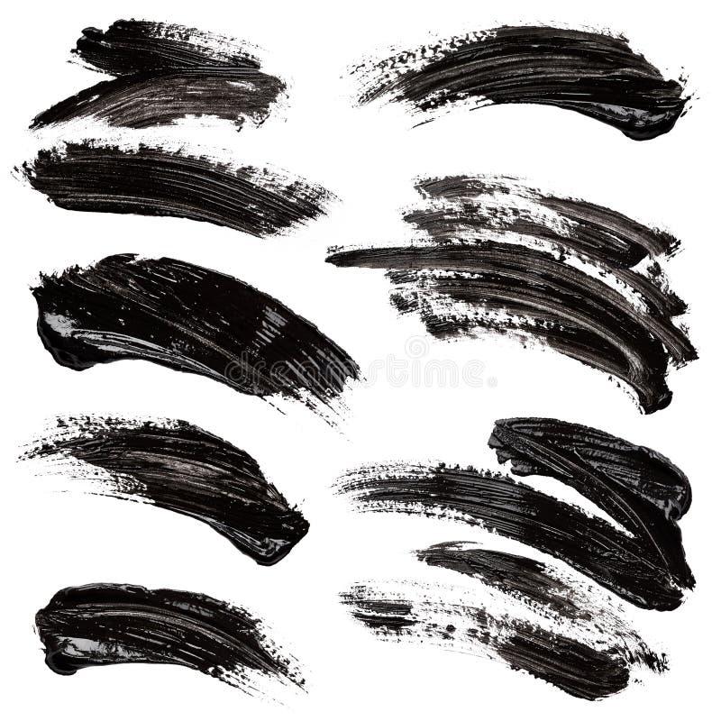 黑色油漆 向量例证