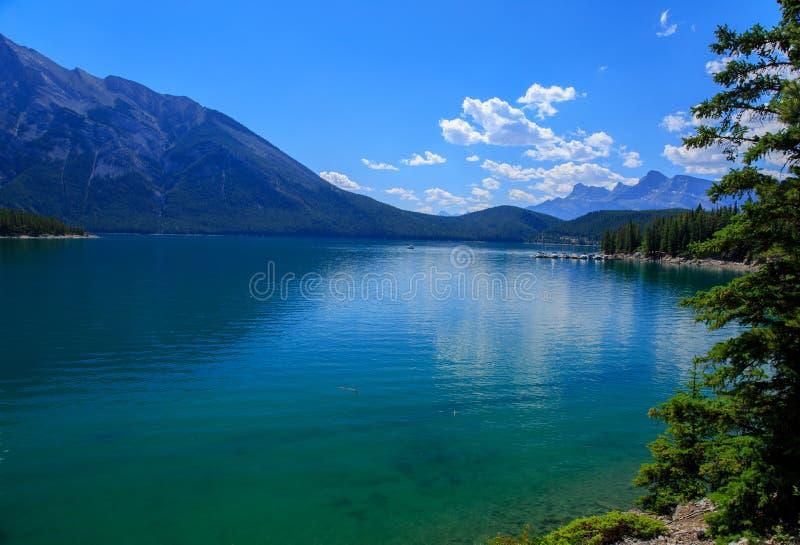 绿色湖 免版税库存图片
