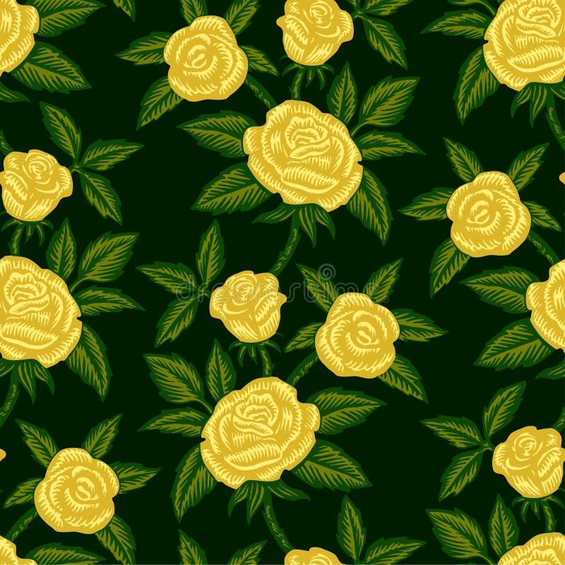 Download 黄色玫瑰 向量例证. 插画 包括有 编排者, beautifuler, 艺术, 绿色, 植物群, 墙纸, 附庸风雅 - 30338596