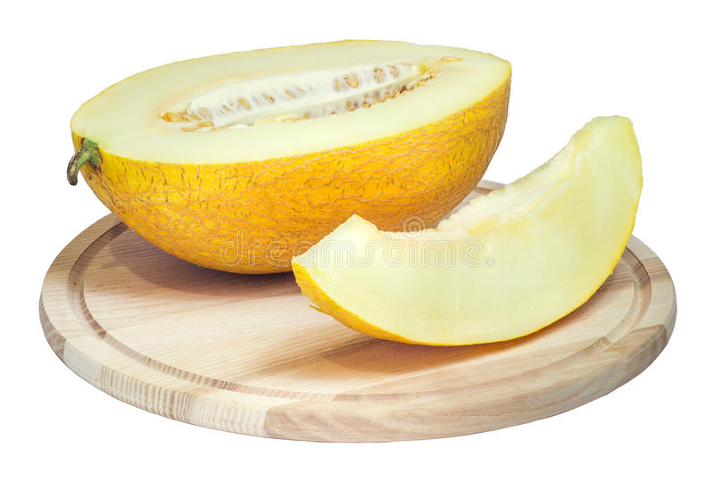 黄色瓜 免版税库存图片