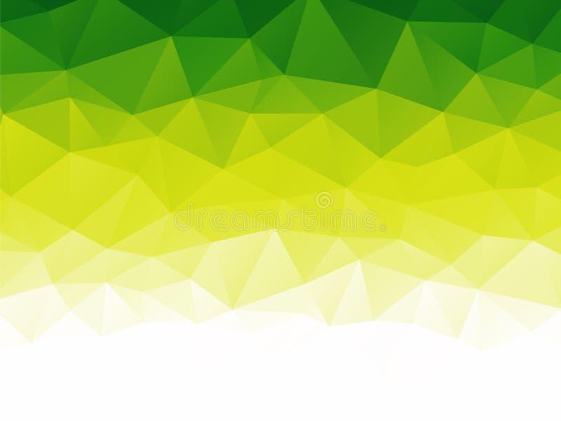 绿色生物抽象纹理 向量例证