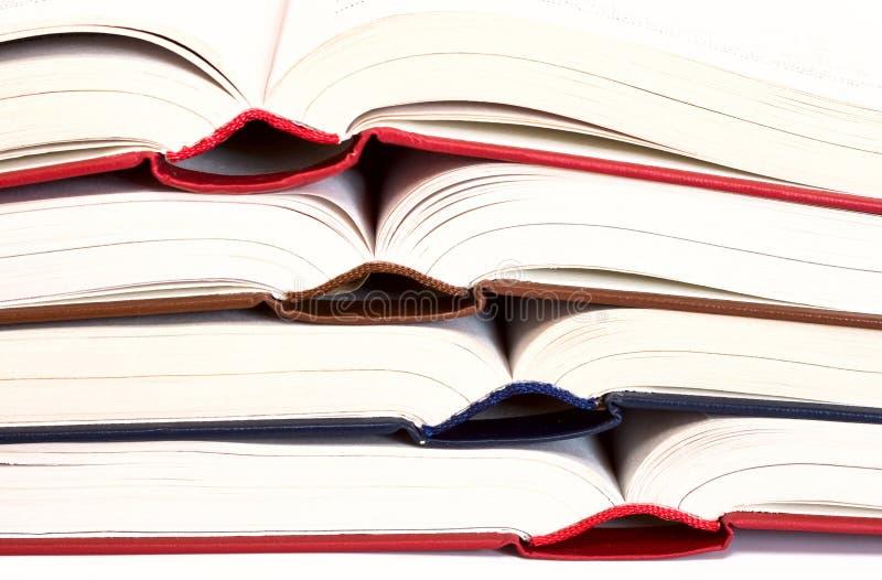 色的书 免版税库存照片