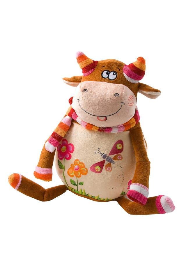 色的公牛 免版税库存图片