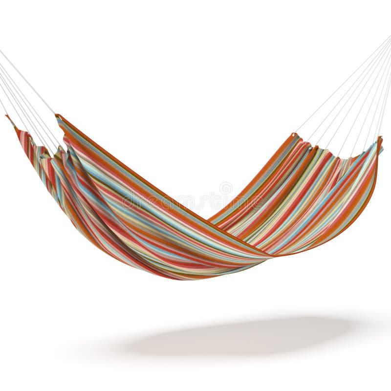 色的吊床 向量例证