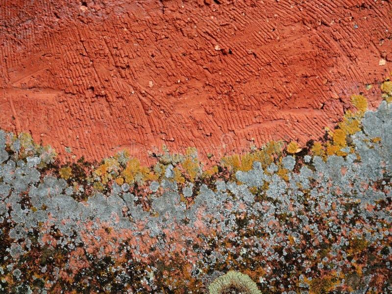 色的墙壁墙纸 图库摄影