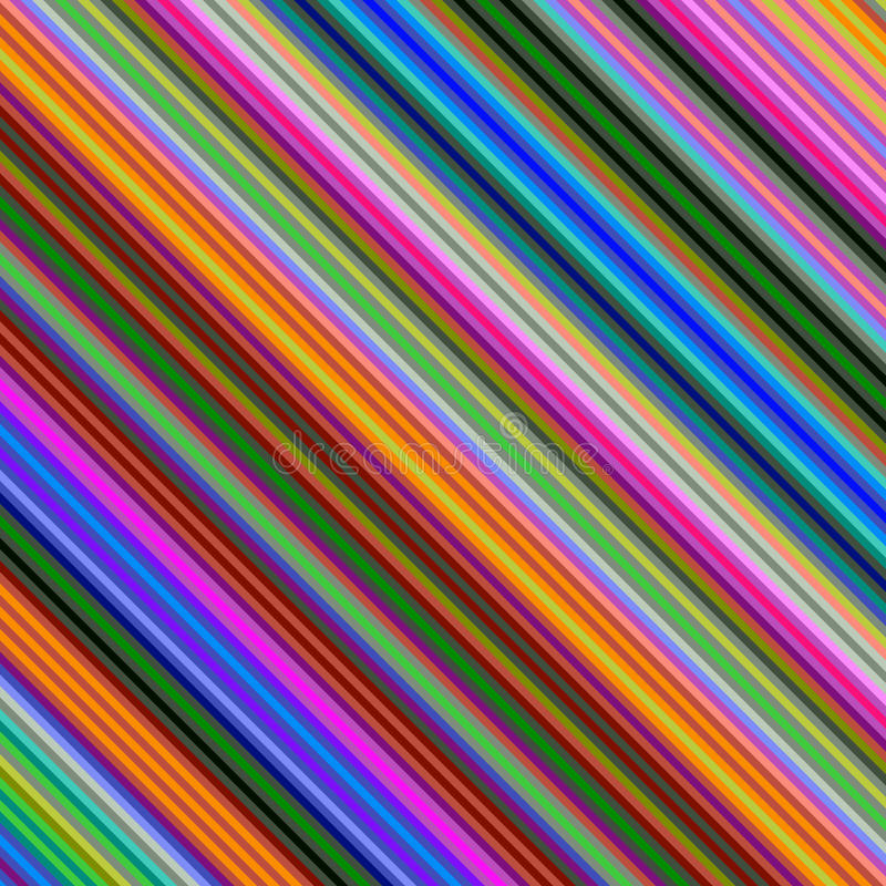色的对角线样式背景 向量例证