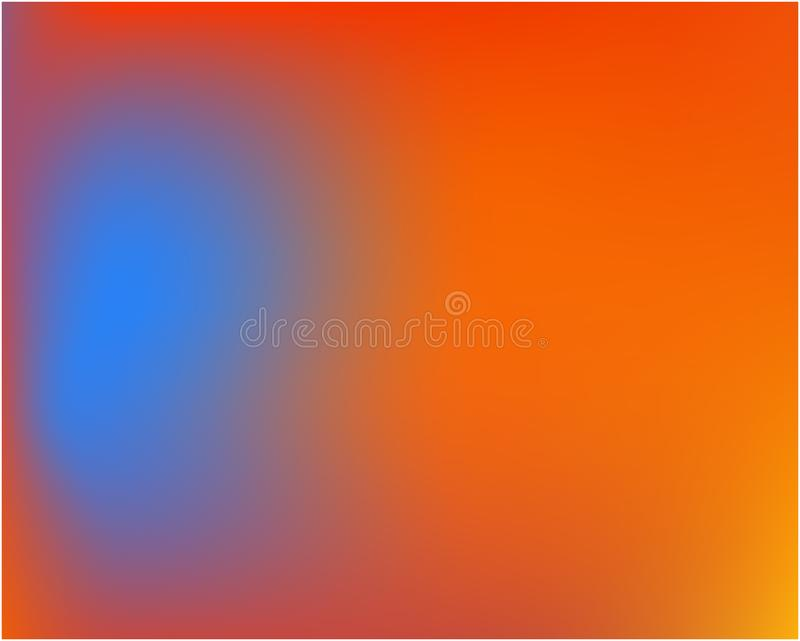 色的抽象背景画面 向量例证