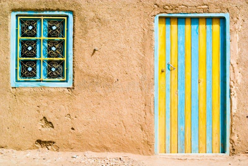 色的沙漠门 免版税库存图片