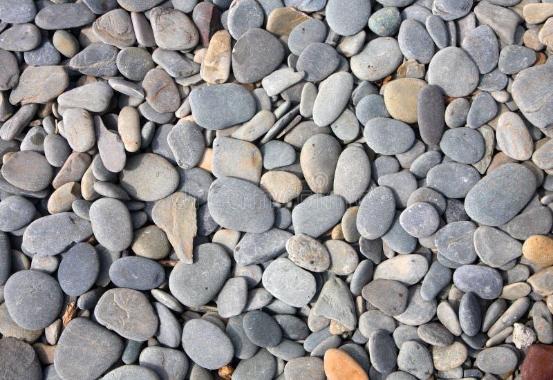 色的灰色石头 免版税库存照片