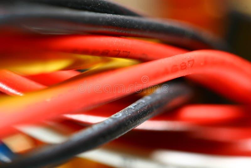色的电汇 库存图片
