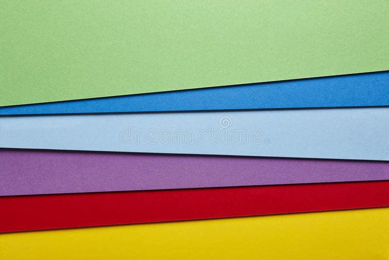 色的纸板背景红色紫色蓝色口气 复制空间 库存照片