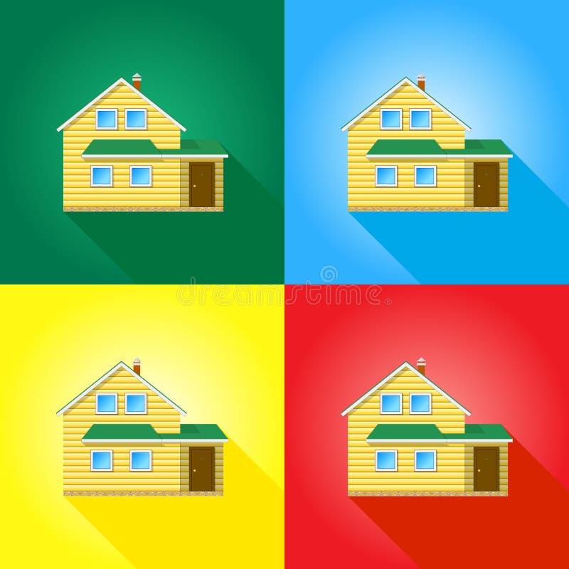Download 色的背景的议院 向量例证. 插画 包括有 例证, 保护, 客舱, 结构, 门面, 购买, 任何地方, 住宅 - 62528438