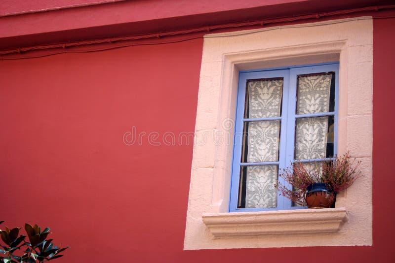 色的视窗 免版税库存图片