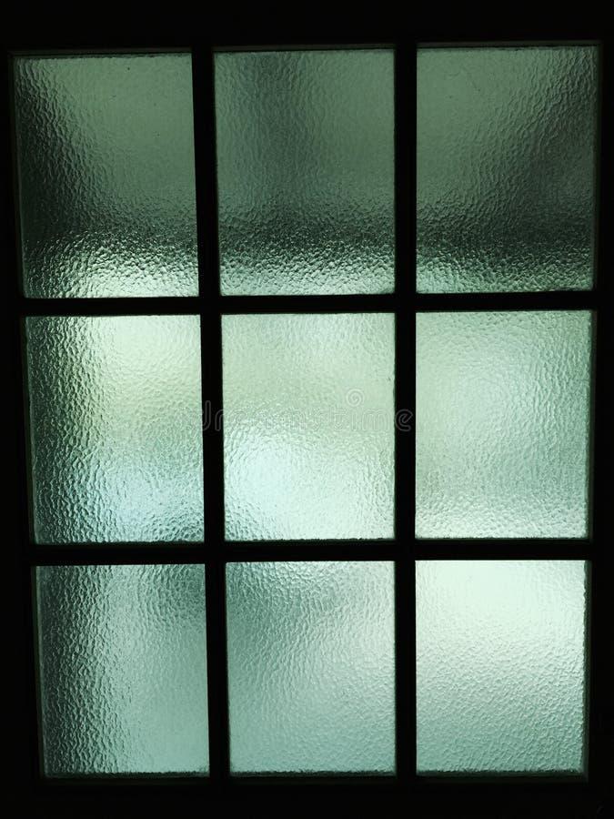 色的玻璃窗守旧派 库存图片