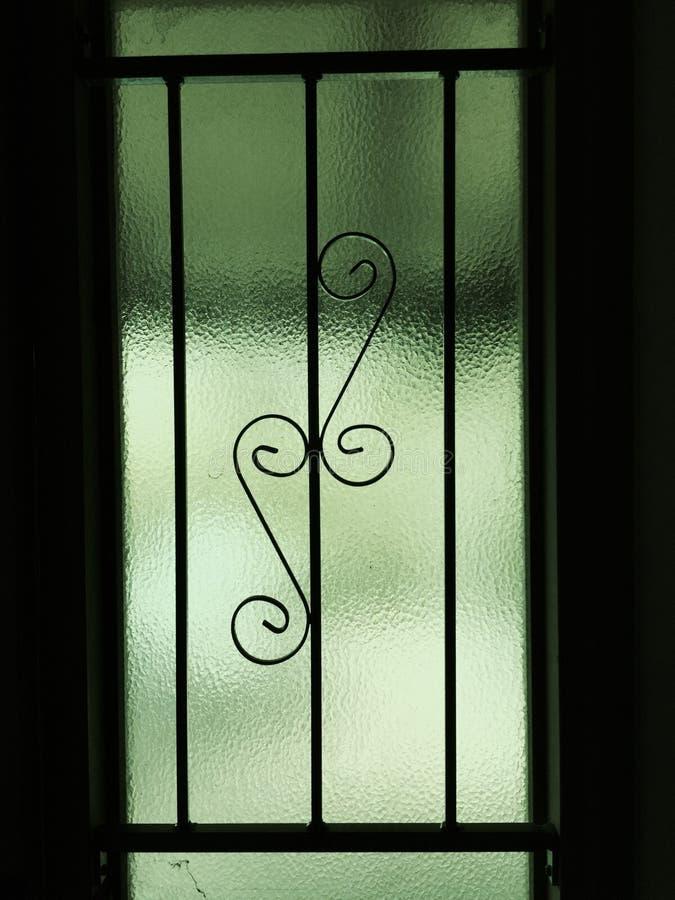 色的玻璃窗守旧派 免版税库存图片