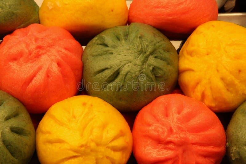 5色的Mandu 免版税图库摄影