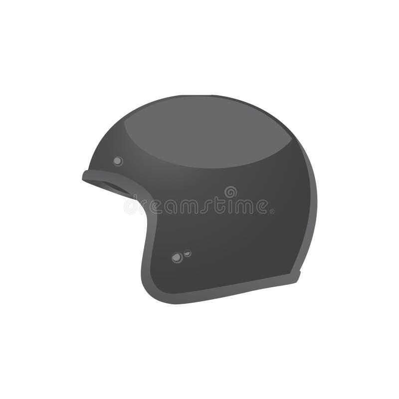 黑色盔甲 向量例证