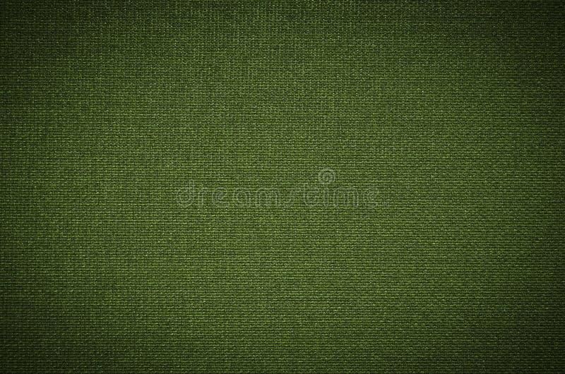 绿色粗糙的帆布 库存图片