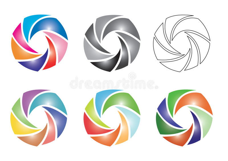 色素 向量例证