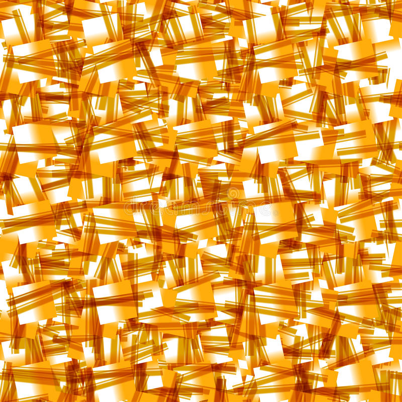 黄色纹理。传染媒介无缝的背景 库存例证