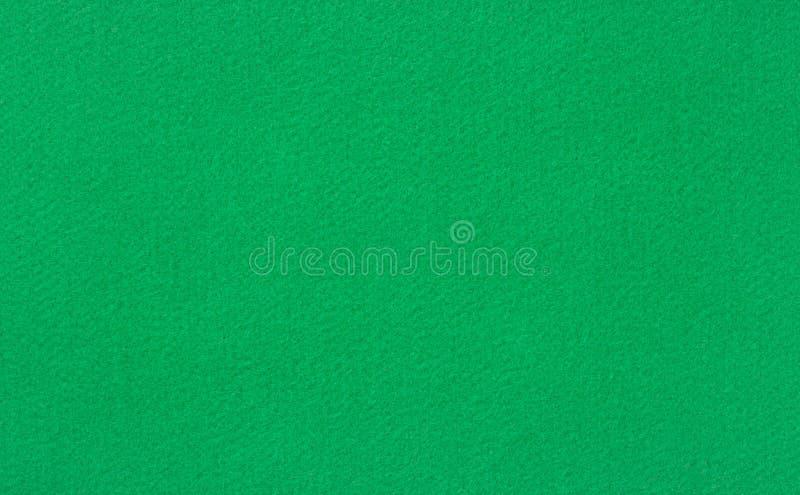 绿色羊毛台面呢 免版税图库摄影
