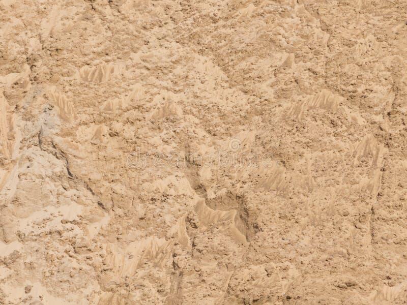 黄色美好的沙子 图库摄影