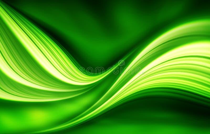 绿色背景设计 向量例证