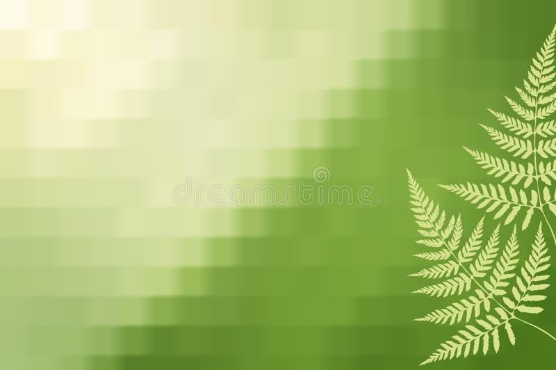 绿色背景 库存例证