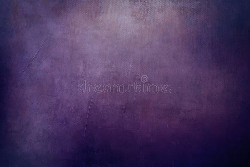 紫色脏的背景 免版税库存照片