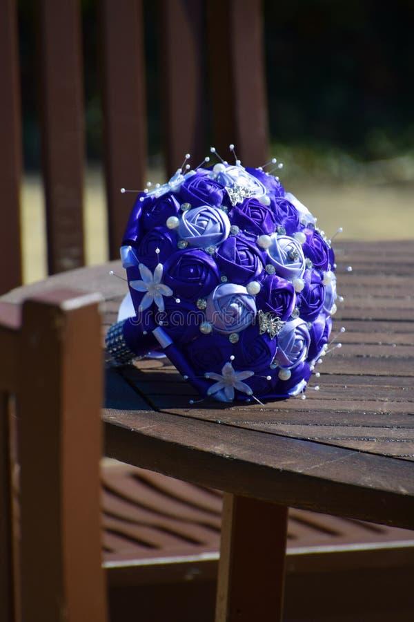 紫色花束 图库摄影
