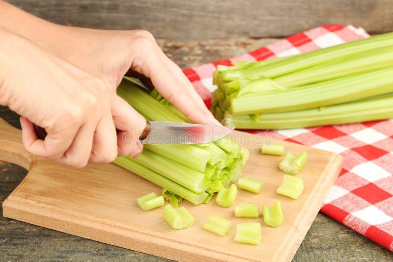 绿色芹菜 库存照片