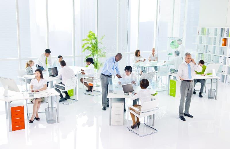 绿色营业所会议研讨会会议概念 库存照片