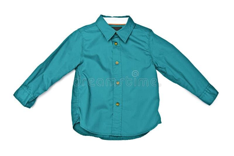 绿色衬衣 库存图片