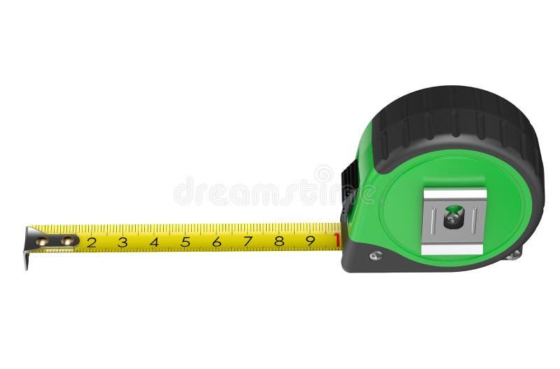 绿色评定的磁带 皇族释放例证