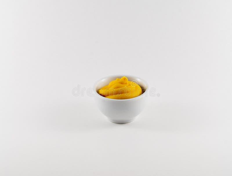 黄色调味汁 库存图片