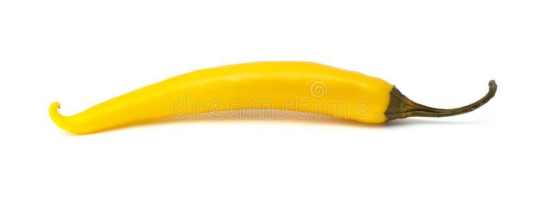 黄色辣椒 库存照片