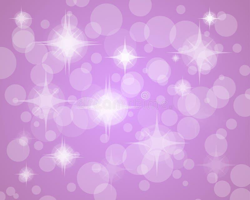 紫色迷离点燃背景 图库摄影