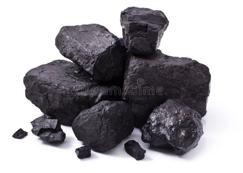 黑色采煤 免版税库存照片