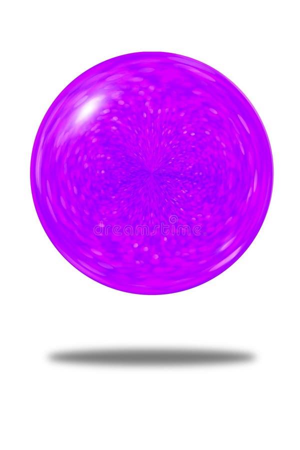紫色闪烁球背景被隔绝的欢乐摘要  皇族释放例证