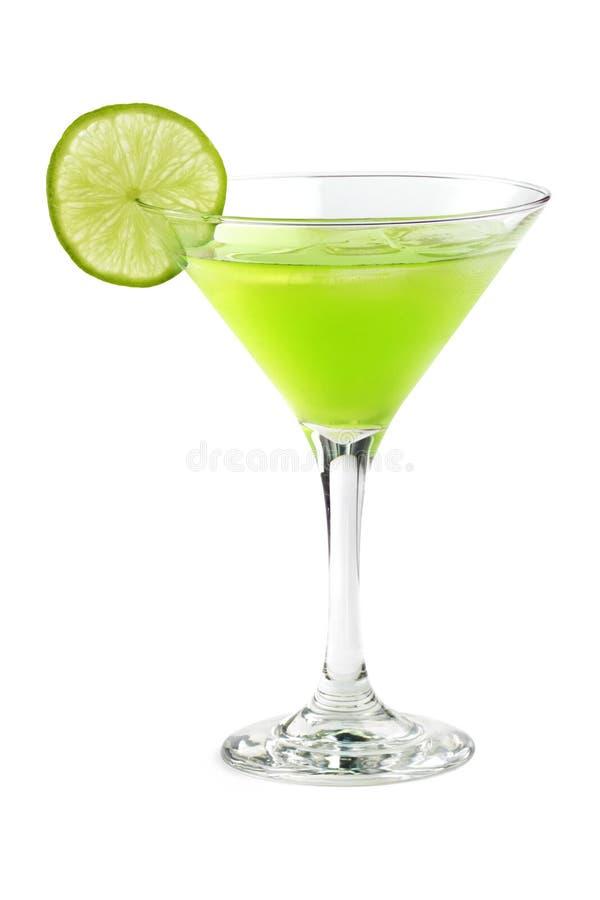 绿色鸡尾酒 图库摄影