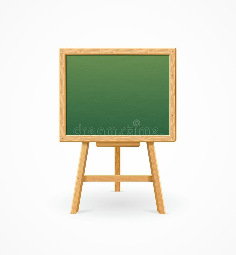 绿色黑委员会学校 向量 向量例证