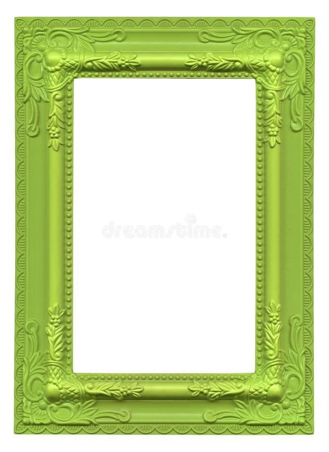 绿色画框 库存图片