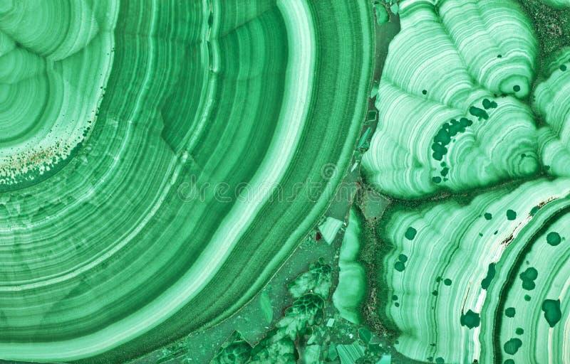 绿色绿沸铜美好的纹理宏指令 库存图片