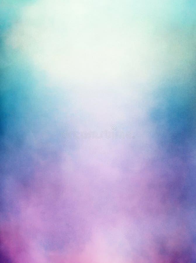 紫色绿色雾 库存图片