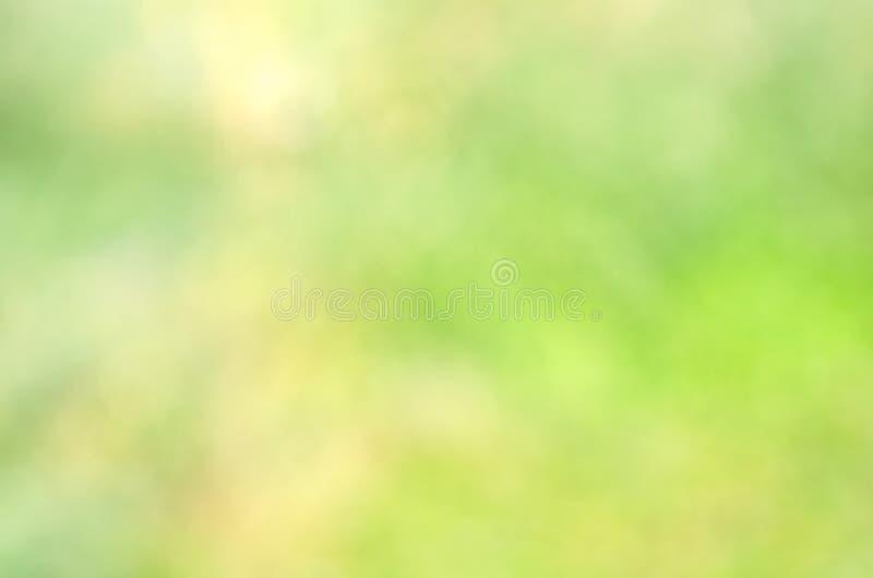绿色bokeh背景 库存图片