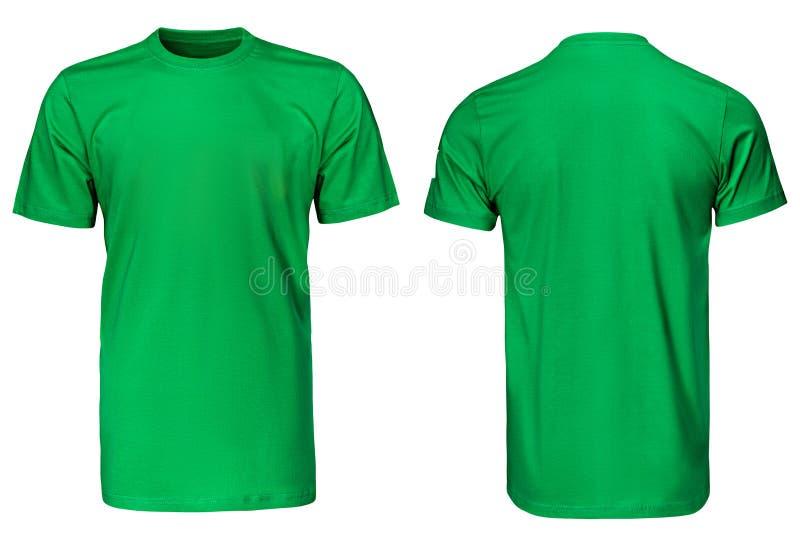 绿色T恤杉,衣裳 免版税库存照片