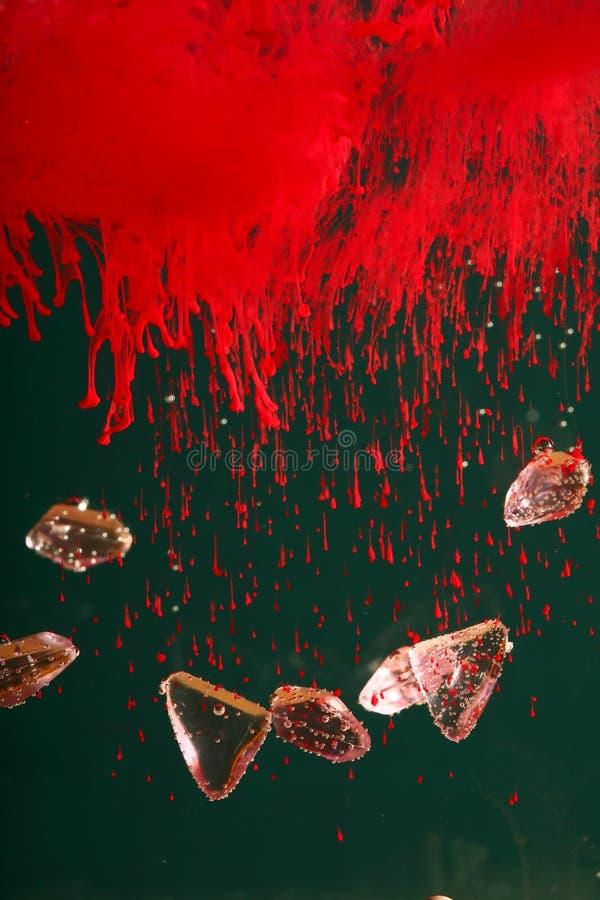 艺术五颜六色的液体 免版税库存图片