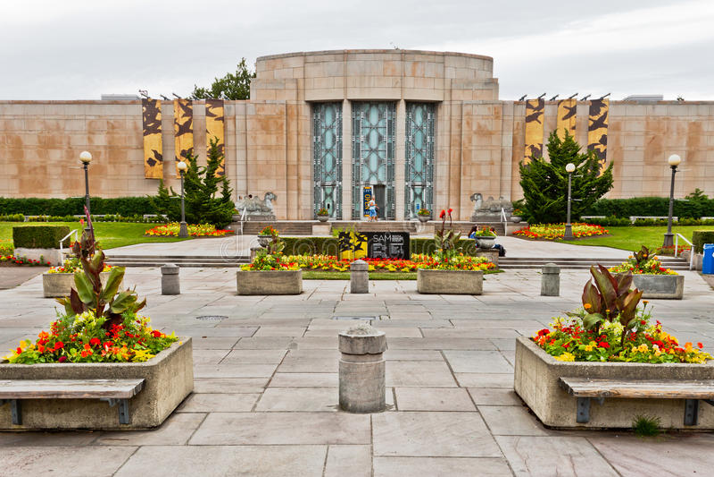 艺术亚洲博物馆西雅图 库存图片