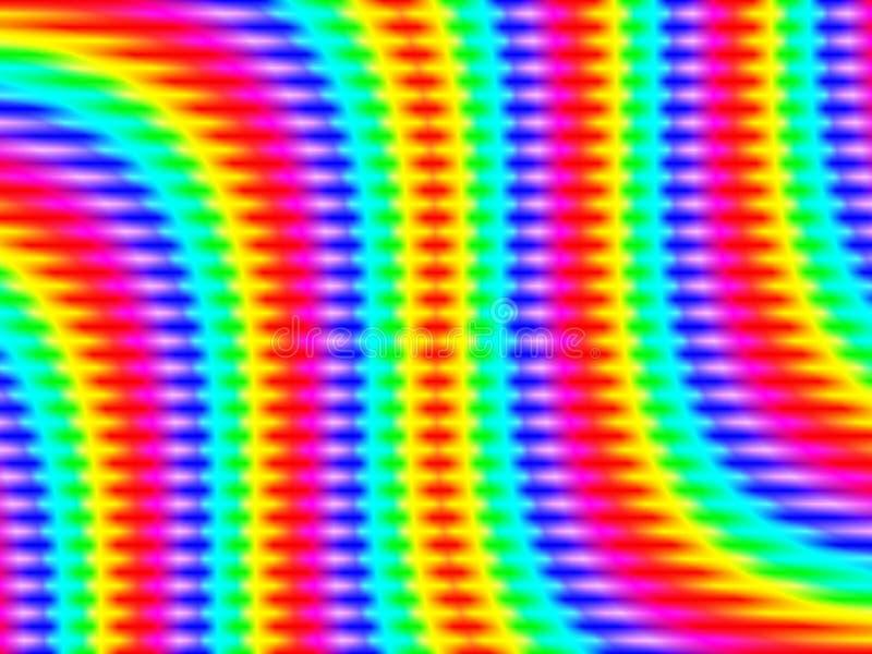 艺术光学减速火箭 向量例证