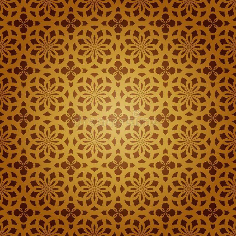 艺术几何伊斯兰向量 库存例证